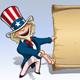 Uncle Sam - Presenting Declaration - GraphicRiver Item for Sale
