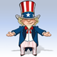 Uncle Sam - Debating - GraphicRiver Item for Sale