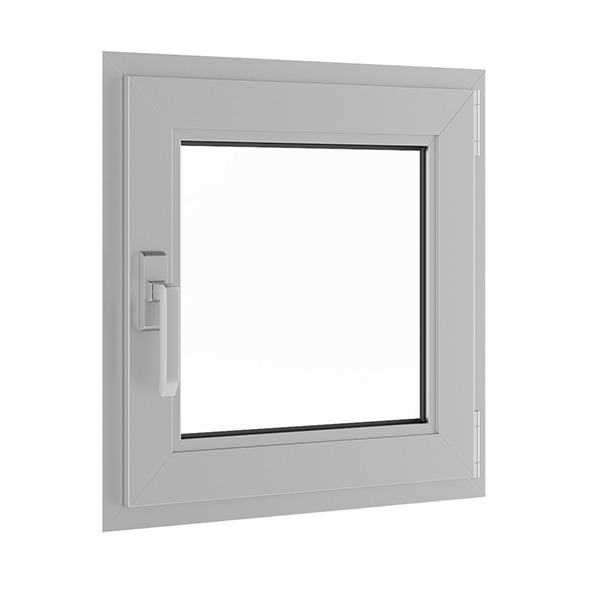 Metal Window 620mm x 600mm - 3DOcean Item for Sale