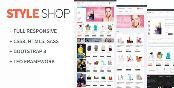 Leo StyleShop Prestashop Theme - PrestaShop eCommerce