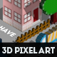 3D Pixel Art Photoshop Creator - GraphicRiver Item for Sale