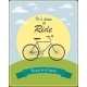 Vintage Card with Retro Bicycle - GraphicRiver Item for Sale