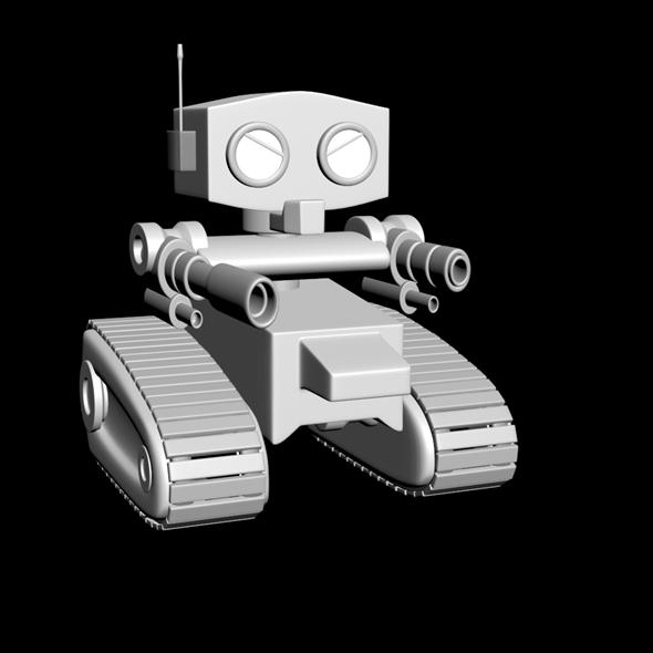 Robot bodyguard - 3DOcean Item for Sale