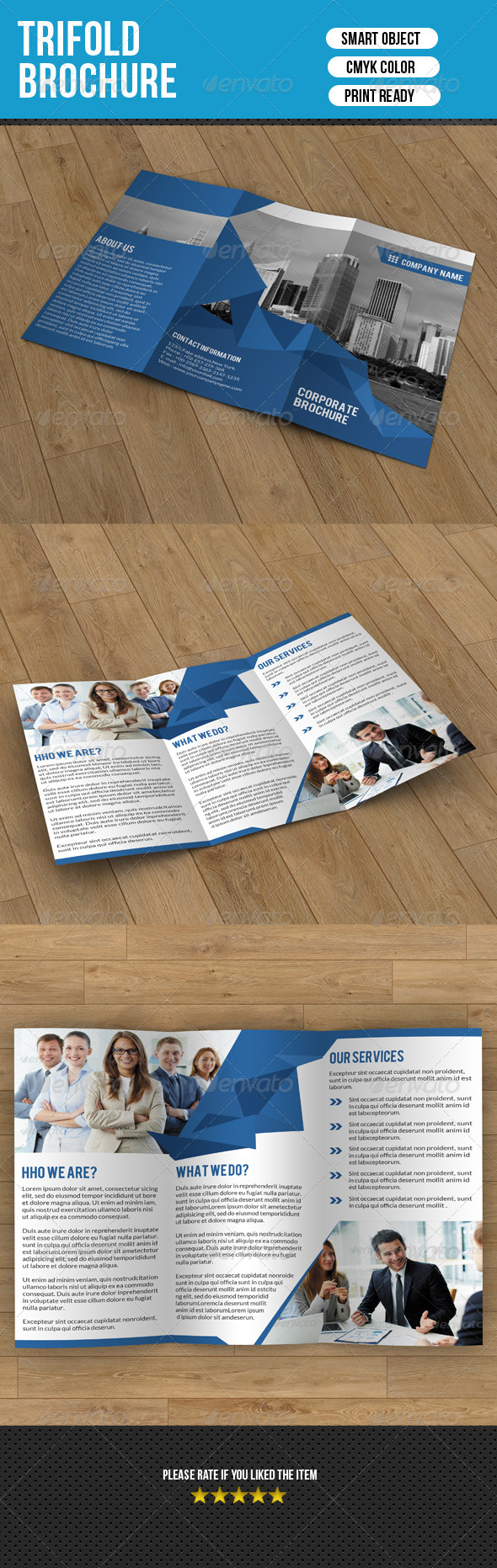 Trifold Brochure-Business - Corporate Brochures