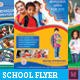 Junior School Promotion Flyers - GraphicRiver Item for Sale