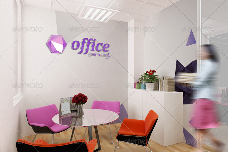 Mockup Branding For Small Offices
