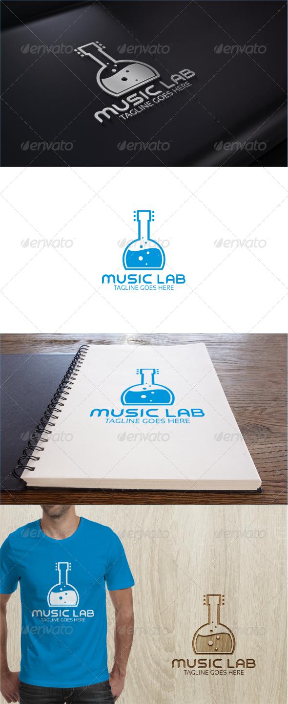 Music Lab Logo Template