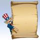 Uncle Sam - Presenting a Declaratio - GraphicRiver Item for Sale