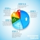 Pie Chart Meeting Infographic - GraphicRiver Item for Sale