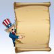 Uncle Sam - Pointing at Declaration - GraphicRiver Item for Sale