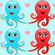 Octopus in Love - GraphicRiver Item for Sale