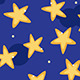 Starry Sky - GraphicRiver Item for Sale