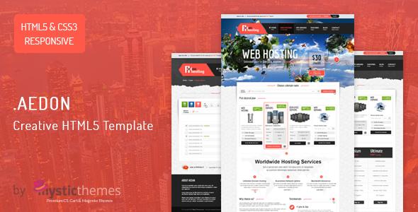 Aedon Responsive Creative HTML5 Template