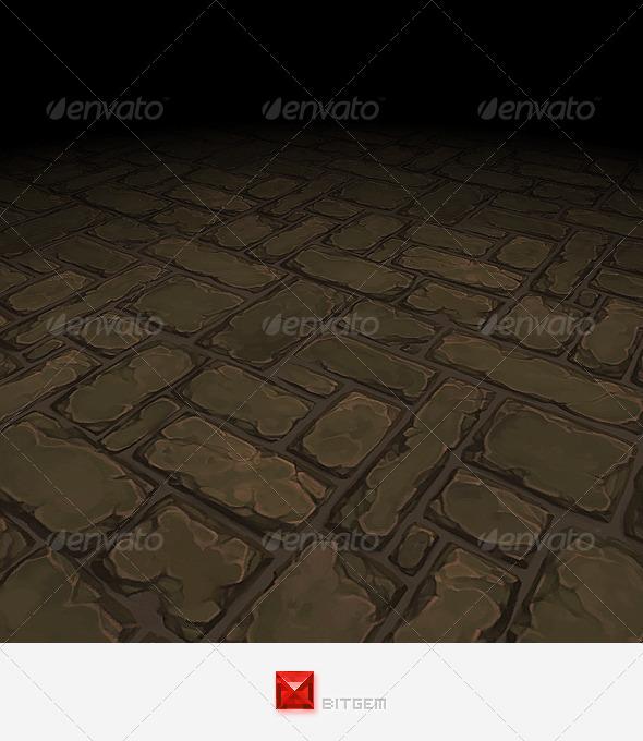 Floor Texture Tile 21 - 3DOcean Item for Sale