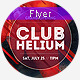 Club Helium - Flyer - GraphicRiver Item for Sale
