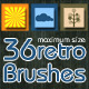 Cool Retro Brushes - GraphicRiver Item for Sale