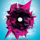 Futuristic Abstract Electronic/Dance Music Flyer  - GraphicRiver Item for Sale