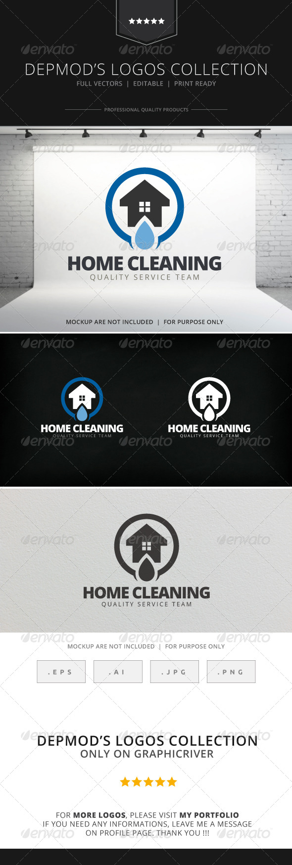 Home Cleaning, Logo
