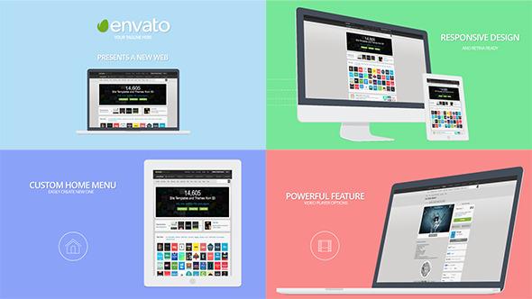 website presentation by petrovykh videohive