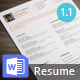 Simple Resume ++ - GraphicRiver Item for Sale