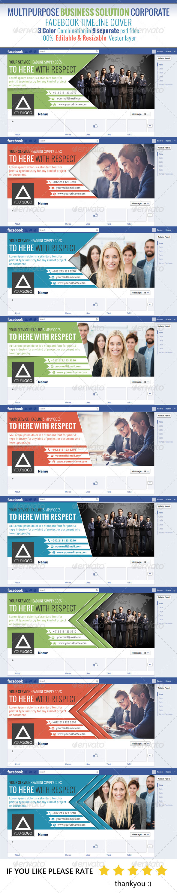 Multipurpose Business Solution Facebook Timeline - Facebook Timeline Covers Social Media
