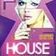 House Flyer DJ Template PSD - GraphicRiver Item for Sale