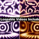 Stars and Circles LED Lights Package (4 Videos) - VideoHive Item for Sale