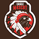 Eagle Chief Mascot Logo - GraphicRiver Item for Sale