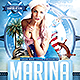 Marina Party Flyer Template - GraphicRiver Item for Sale