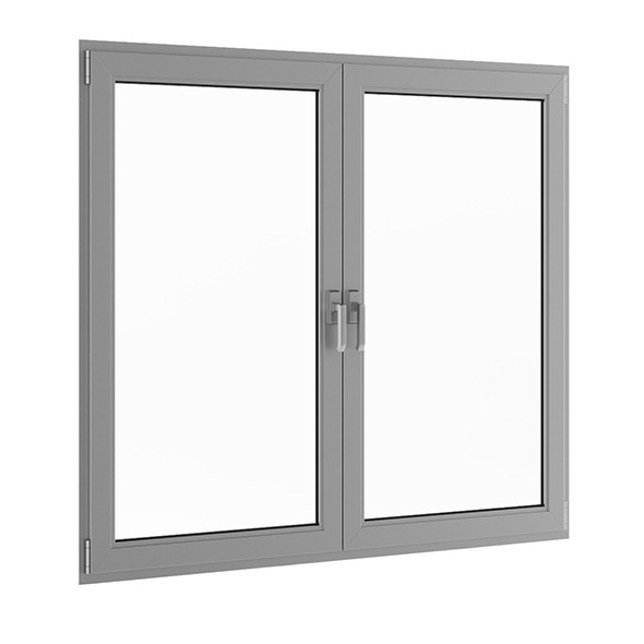 Metal Window 1770mm x 1500mm - 3DOcean Item for Sale