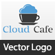 Cloud Cafe Logo Template - GraphicRiver Item for Sale