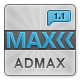 Admax User Interface - ThemeForest Item for Sale
