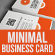 Colorful Minimal Business Card - GraphicRiver Item for Sale