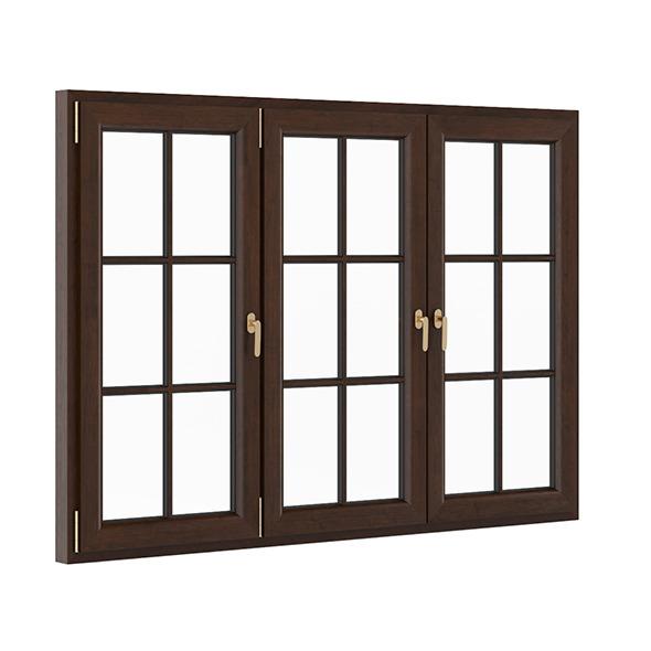 Wooden Window 2270mm x 1600mm - 3DOcean Item for Sale