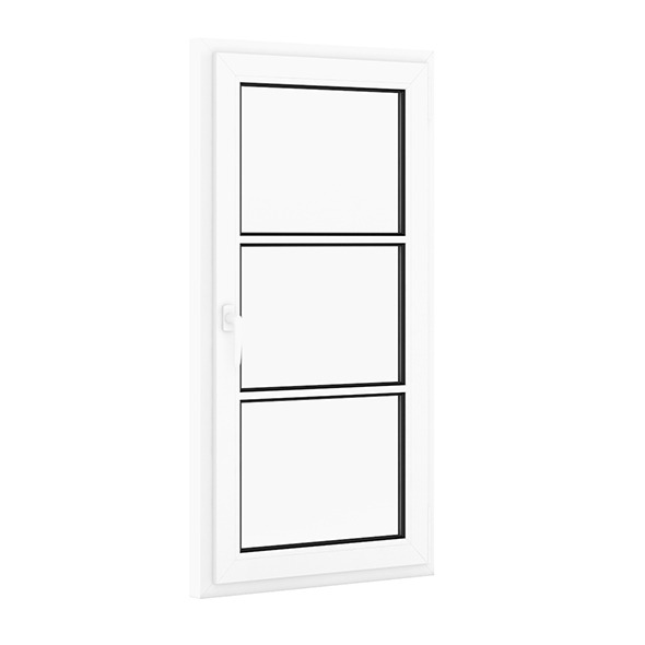 Plastic Window 800mm x 1520mm - 3DOcean Item for Sale