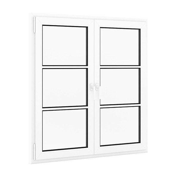 Plastic Window 1522mm x 1520mm - 3DOcean Item for Sale