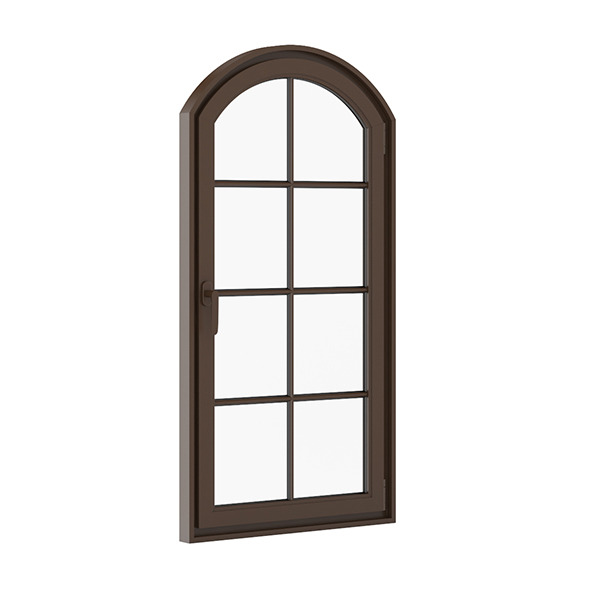 Brown Metal Window 940mm x 1820mm - 3DOcean Item for Sale