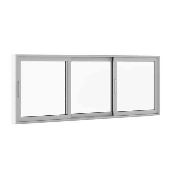 Sliding Metal Window 3520mm x 1283mm - 3DOcean Item for Sale
