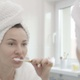 Brushing Teeth Woman - VideoHive Item for Sale