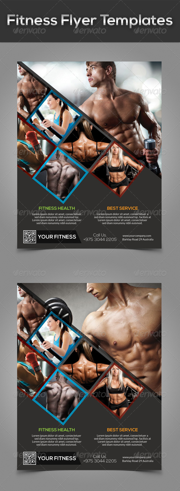 Fitness Flyer Templates