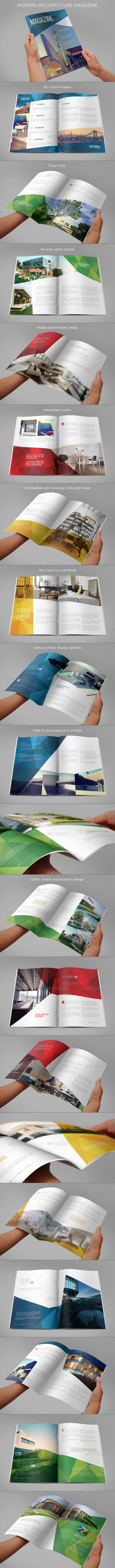 Modern Architecture Magazine by AbraDesign   GraphicRiver