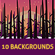 Game Backgrounds #1 - GraphicRiver Item for Sale