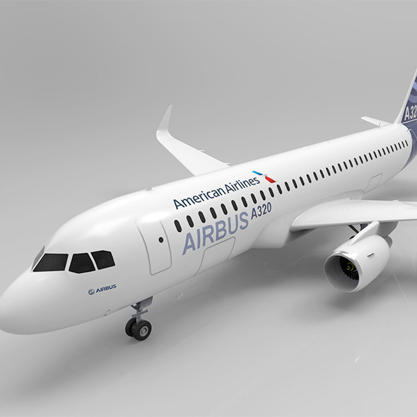 A320 - 3DOcean Item for Sale