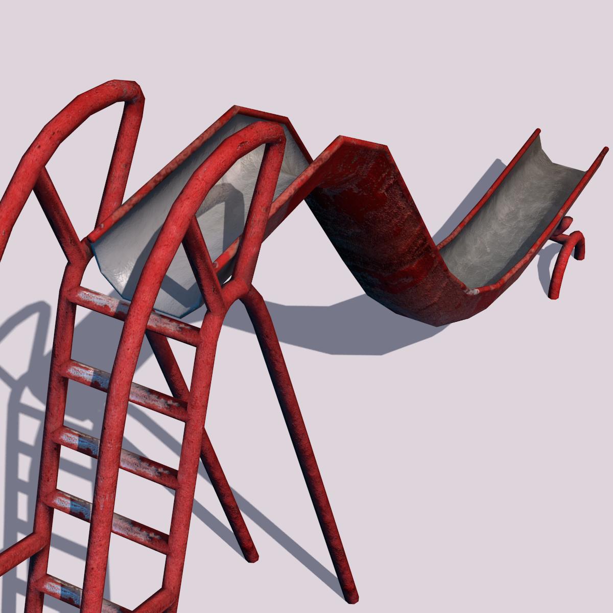 Old Playground Slide