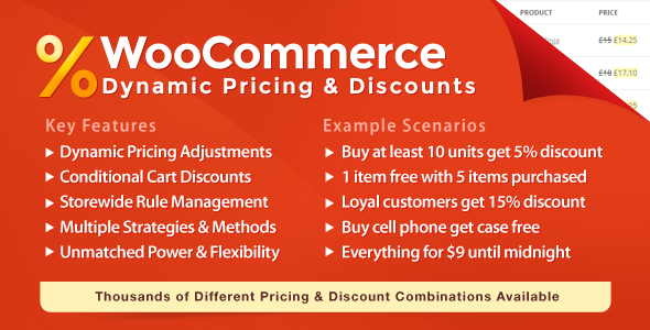 WooCommerce Dynamic Pricing & Discounts Nulled