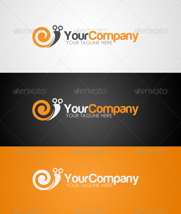 Snail Logo - Animals Logo Templates