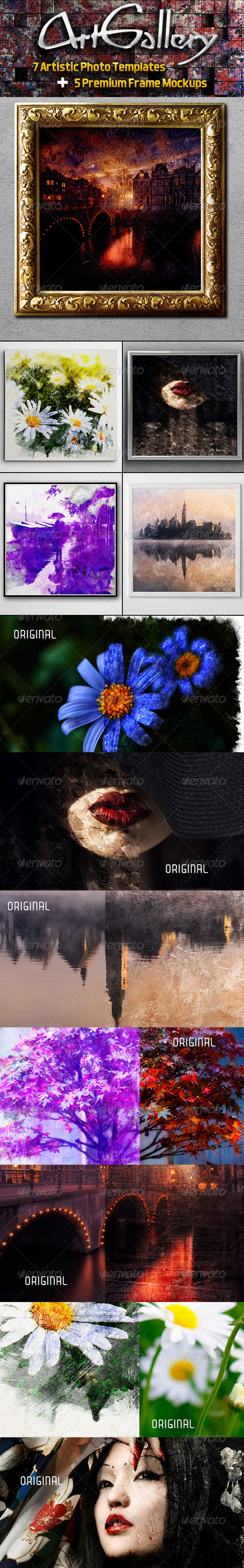 Art Gallery - Artistic Photo Templates