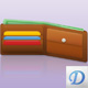Wallet Icon - GraphicRiver Item for Sale