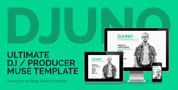 DJuno – Ultimate DJ / Producer Muse Template
