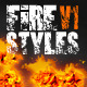 Fire Text Styles v.1 - GraphicRiver Item for Sale